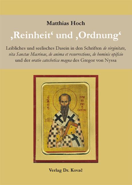 Cover: 'Reinheit' und 'Ordnung'