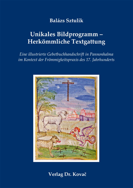 Cover: Unikales Bildprogramm – Herkömmliche Textgattung