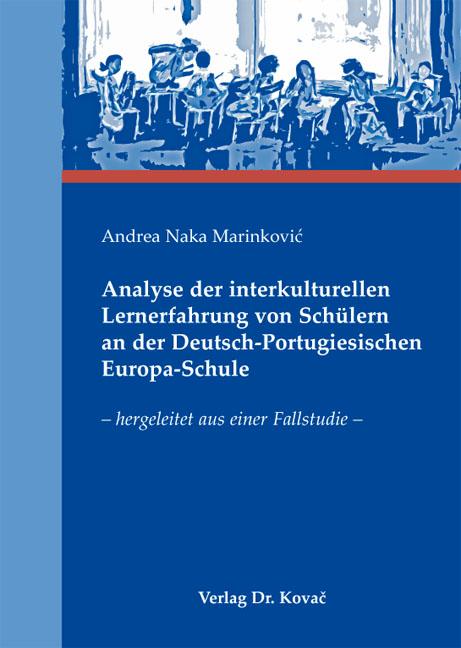 Cover: Analyse der interkulturellen Lernerfahrung von Schülern an der Deutsch-Portugiesischen Europa-Schule