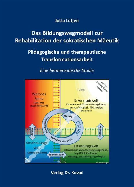 Cover: Das Bildungswegmodell zur Rehabilitation der sokratischen Mäeutik – Pädagogische und therapeutische Transformationsarbeit