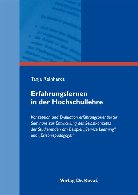 Cover: Erfahrungslernen in der Hochschullehre