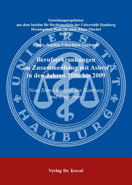 Cover: Berufserkrankungen im Zusammenhang mit Asbest in den Jahren 2000 bis 2009