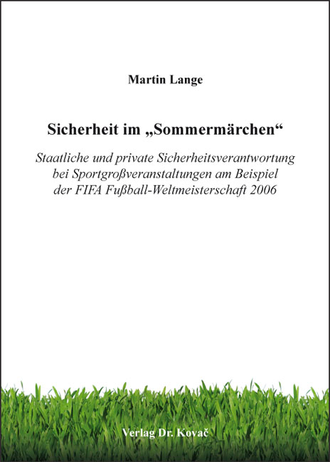 """Cover: Sicherheit im """"Sommermärchen"""""""