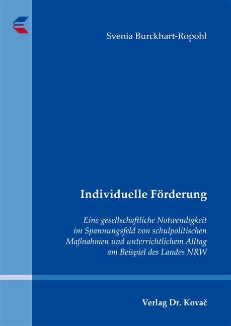 Cover: Individuelle Förderung