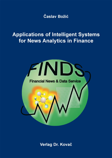 Cover: Applications of Intelligent Systems for News Analytics in Finance