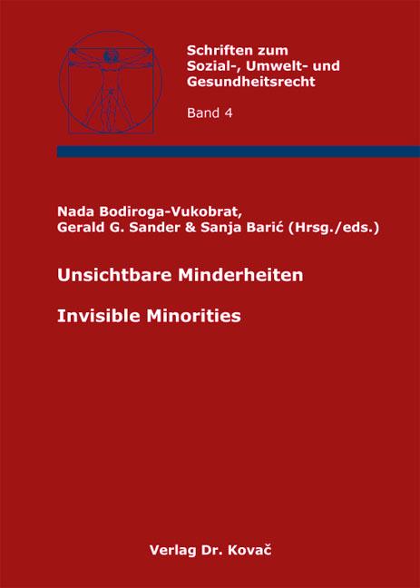 Cover: Unsichtbare Minderheiten / Invisible Minorities
