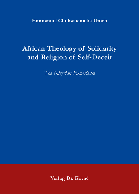 Cover: African Theology of Solidarity and Religion of Self-Deceit