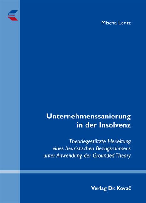Cover: Unternehmenssanierung in der Insolvenz