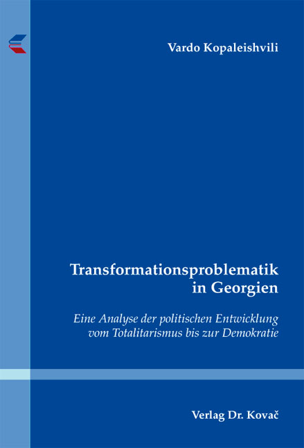 Cover: Transformationsproblematik in Georgien