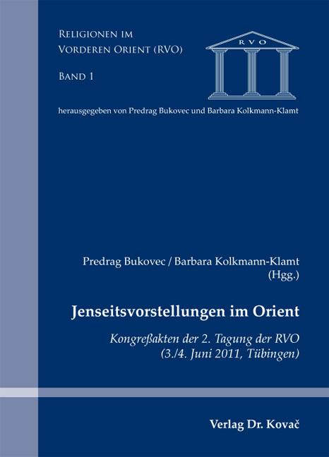Cover: Jenseitsvorstellungen im Orient
