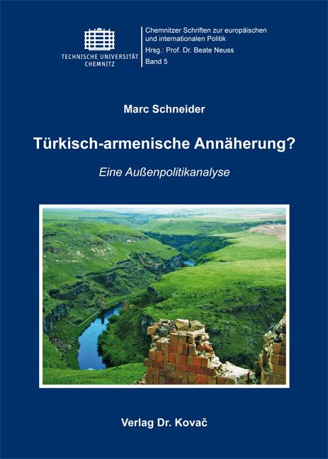 Cover: Türkisch-armenische Annäherung?