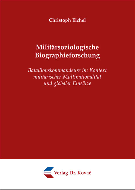 Cover: Militärsoziologische Biographieforschung