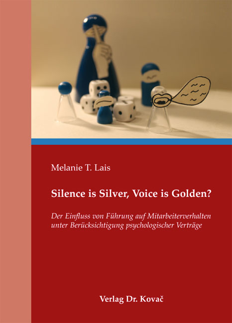 Cover: Silence is Silver, Voice is Golden?