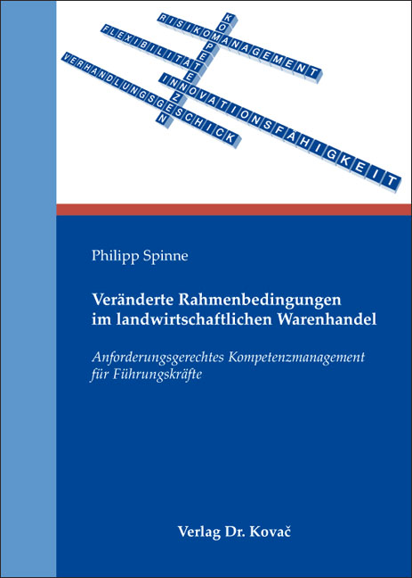 Cover: Veränderte Rahmenbedingungen im landwirtschaftlichen Warenhandel