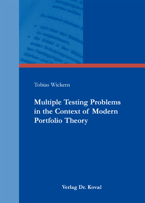 Cover: Multiple Testing Problems in the Context of Modern Portfolio Theory