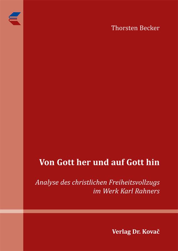 Cover: Von Gott her und auf Gott hin