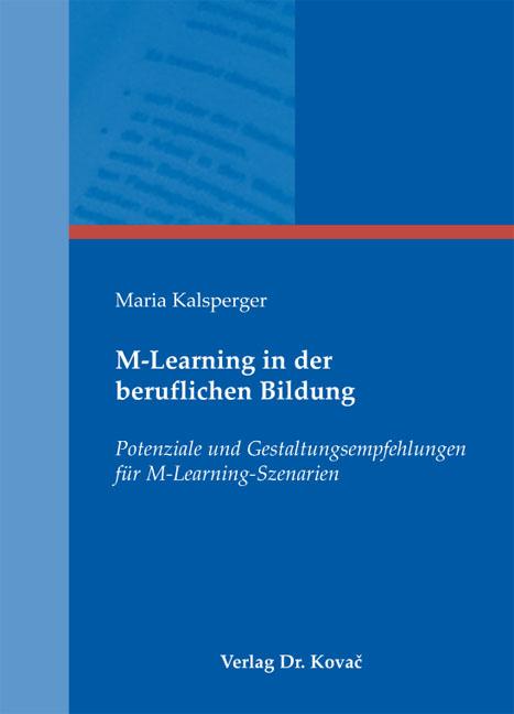 Cover: M-Learning in der beruflichen Bildung