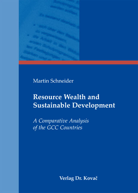 Cover: Resource Wealth and Sustainable Development