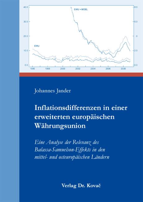 Cover: Inflationsdifferenzen in einer erweiterten europäischen Währungsunion