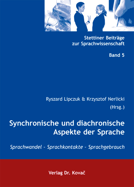 Cover: Synchronische und diachronische Aspekte der Sprache