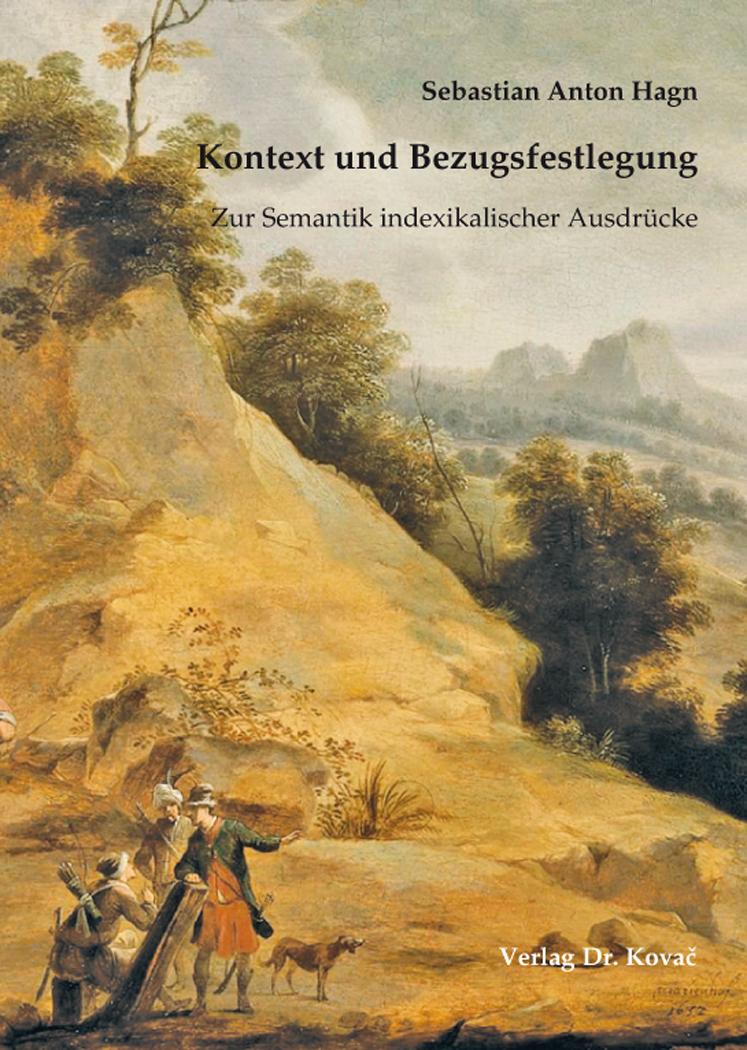 Cover: Kontext und Bezugsfestlegung