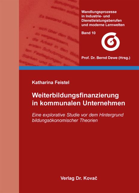 Cover: Weiterbildungsfinanzierung in kommunalen Unternehmen