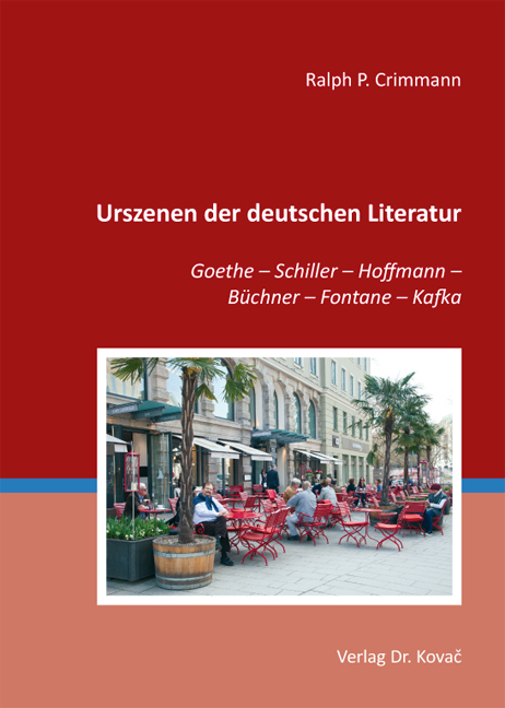 Cover: Urszenen der deutschen Literatur