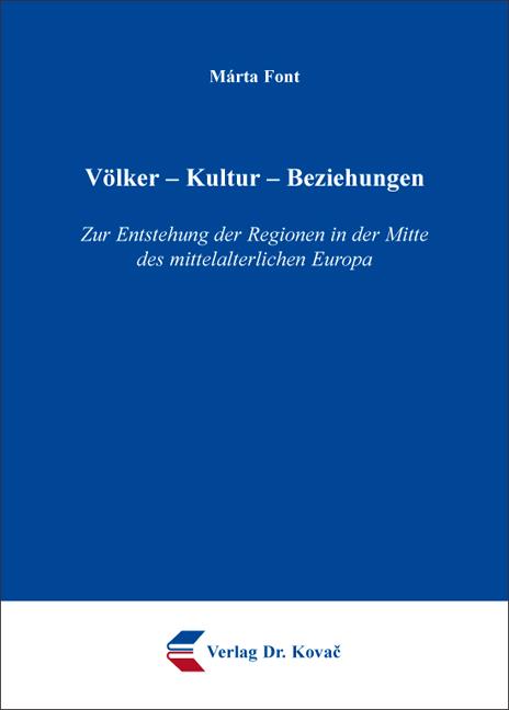 Cover: Völker – Kultur – Beziehungen