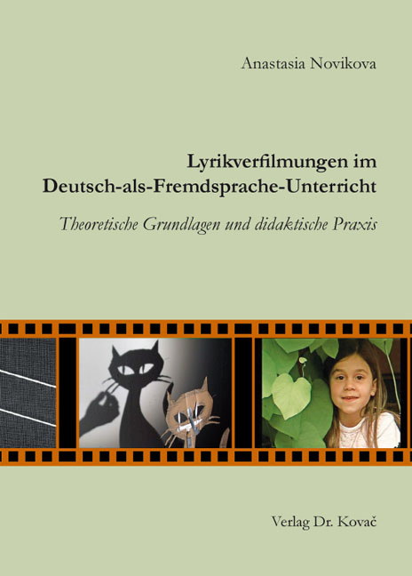 Cover: Lyrikverfilmungen im Deutsch-als-Fremdsprache-Unterricht
