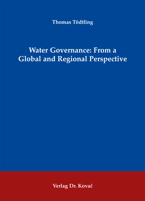Cover: Water Governance: From a Global and Regional Perspective