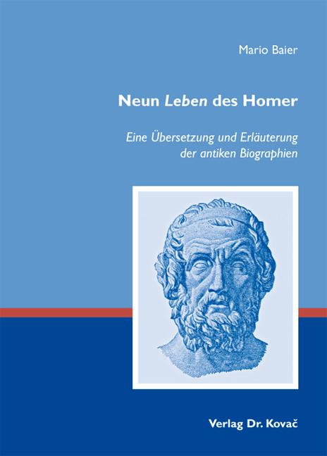 Cover: Neun Leben des Homer