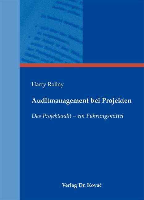 Cover: Auditmanagement bei Projekten