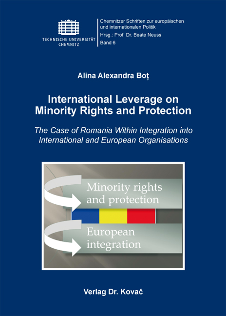 Cover: International Leverage on Minority Rights and Protection