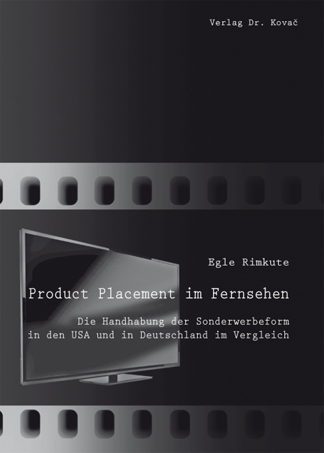 Cover: Product Placement im Fernsehen