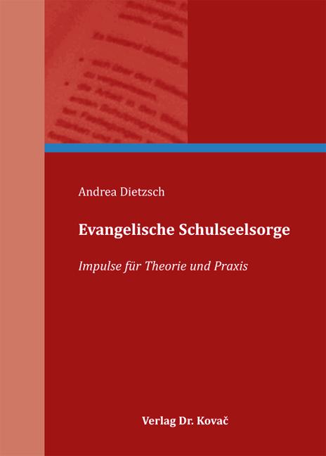 Cover: Evangelische Schulseelsorge