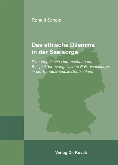 Cover: Das ethische Dilemma in der Seelsorge