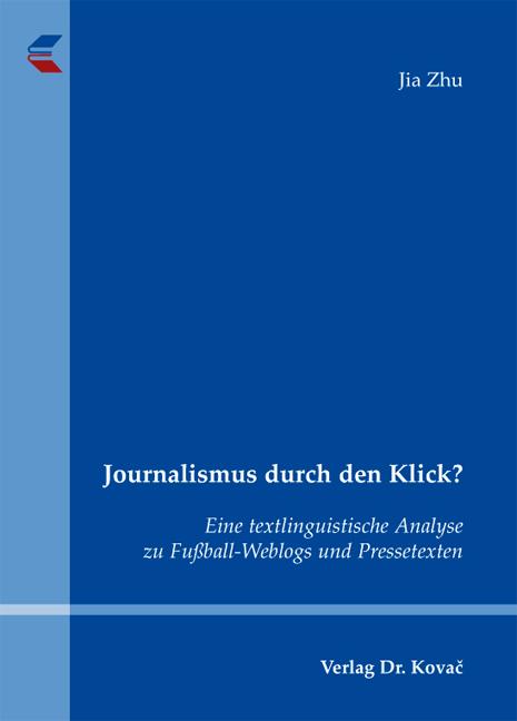 Cover: Journalismus durch den Klick?