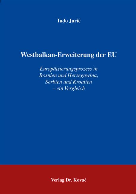 Cover: Westbalkan-Erweiterung der EU