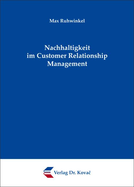 Cover: Nachhaltigkeit im Customer Relationship Management