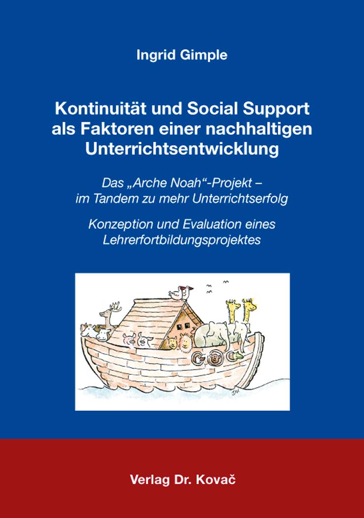 Cover: Kontinuität und Social Support als Faktoren einer nachhaltigen Unterrichtsentwicklung