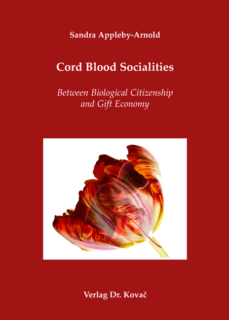 Cover: Cord Blood Socialities