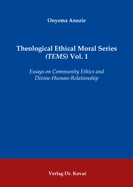 Essays on moral development vol 1