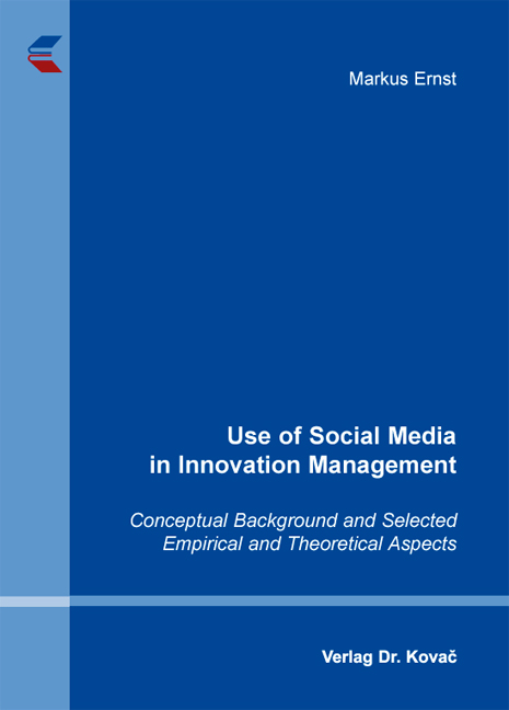 Cover: Use of Social Media in Innovation Management