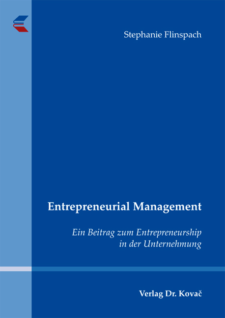 Cover: Entrepreneurial Management