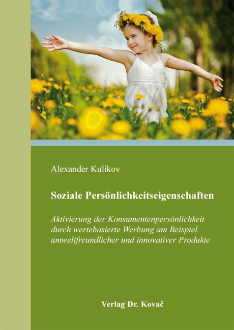 Cover: Soziale Persönlichkeitseigenschaften