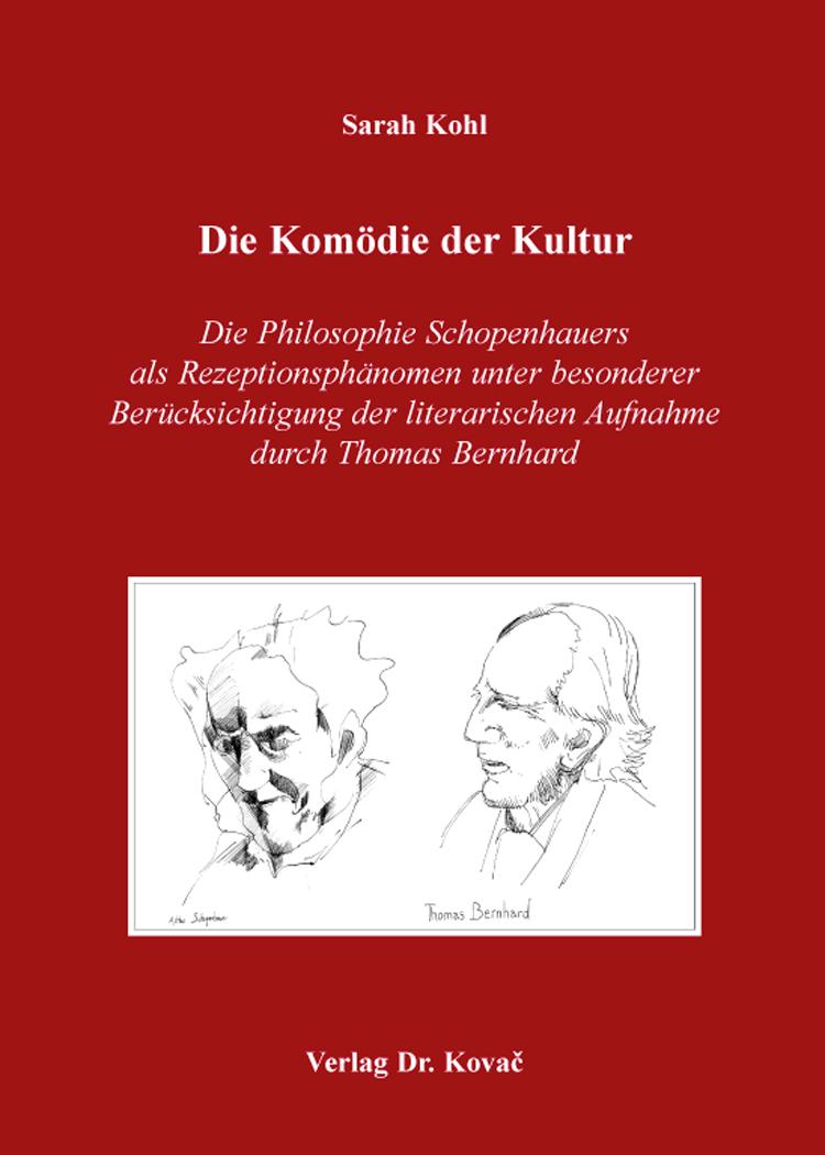 Cover: Die Komödie der Kultur
