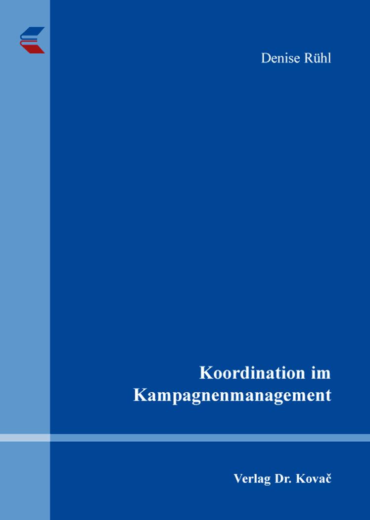Cover: Koordination im Kampagnenmanagement