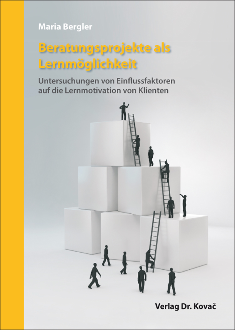 Cover: Beratungsprojekte als Lernmöglichkeit