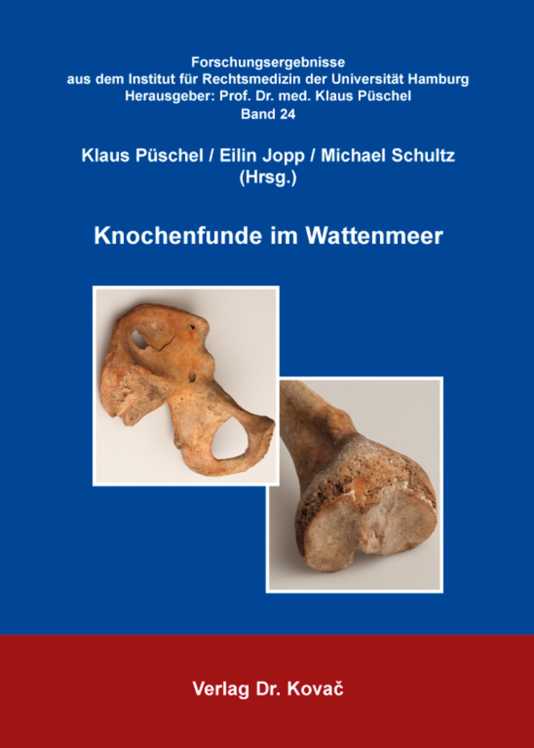Cover: Knochenfunde im Wattenmeer