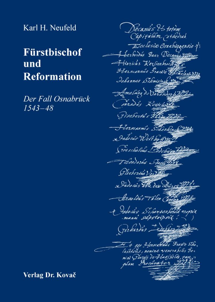 Cover: Fürstbischof und Reformation